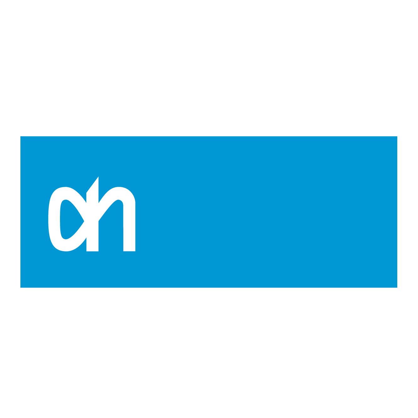 Logo Albert Heijn de plek waar wij onze rode bessen jaarrond verkopen
