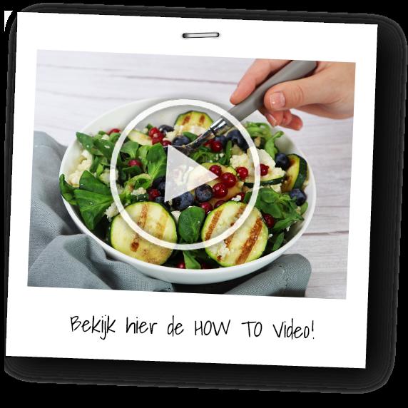 How to video feta salade