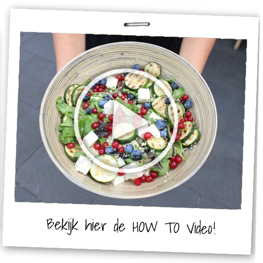 How to salade maken