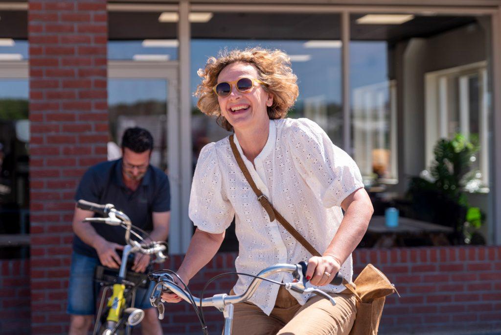 Lekker met de fiets door het mooie Limburgse landschap