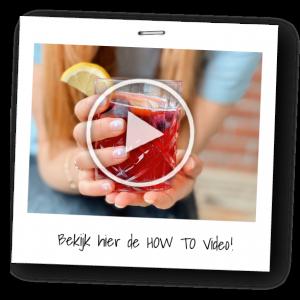 How to video - blauwe bessen limonade